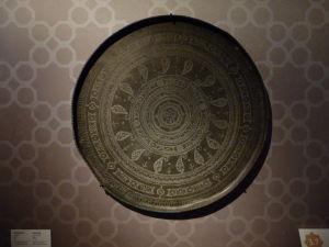 Podnos s typickým azerbajdžanským symbolom buta v tvare kvapky