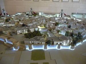 Maketa starého mesta Baku