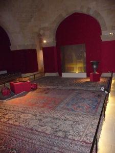 Expozícia vo vnútri paláca - rezidenčné priestory