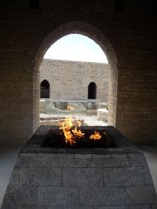 Oheň v chráme