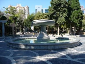 Námestie fontán - je ich tu naozaj veľa