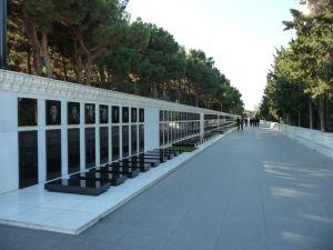 Park mučenníkov - Azerbajdžancov padlých vo vojne