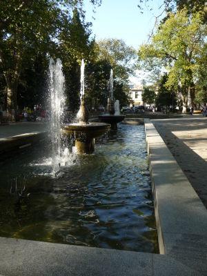 Centrálny park v Kutaisi