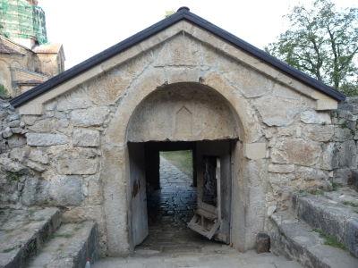 Vstup ku kláštoru