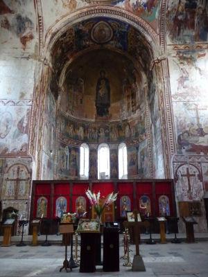 Fresky v Kostole Panny Márie - Ikonostas