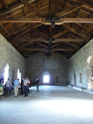 Priestory kláštora, kedysi akadémia