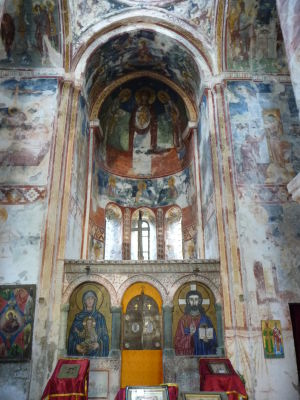 Fresky v Kostole sv. Juraja