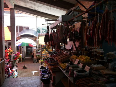 Tržnica v Kutaisi