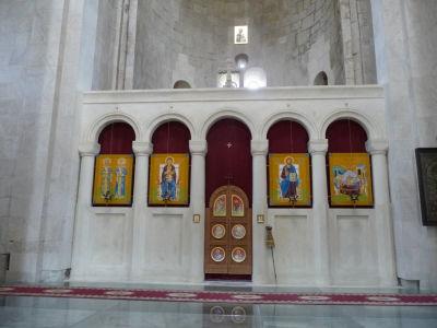 Ikonostas v Bagratovej katedrále