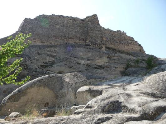 Zvyšky kamenného mesta Uplisciche