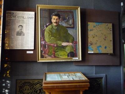 Stalin v plnej paráde