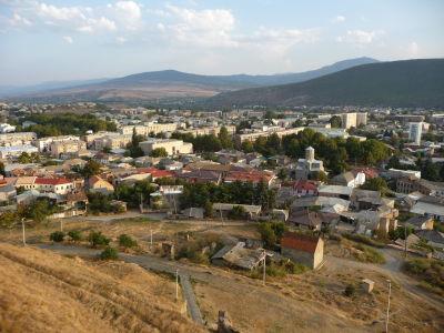Z hradu je dobrý výhľad na mesto