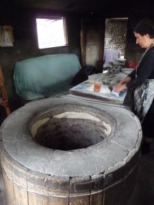 Kacheti - Tradičný spôsob pečenia chleba