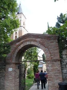 Kláštor Bodbe - Vstupná brána