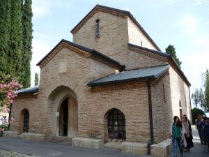 Kláštor Bodbe - Kostolík, kde je pochovaná sv. Nino