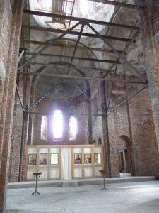 Kláštor Bodbe - Katedrála v rekonštrukcii