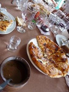 Gruzínska hostina - Nemôže chýbať chačapuri