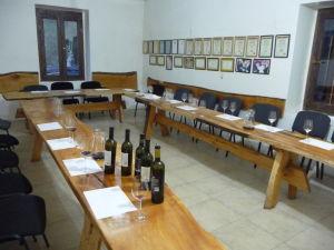 Vináreň Kindžamarauli - Ochutnávacia miestnosť
