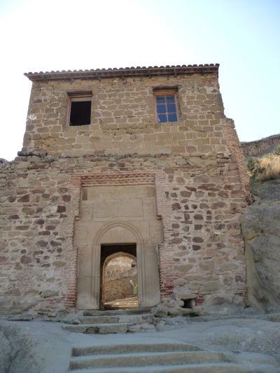Vstupná brána do kláštora Davida Garedžu v Gruzínsku