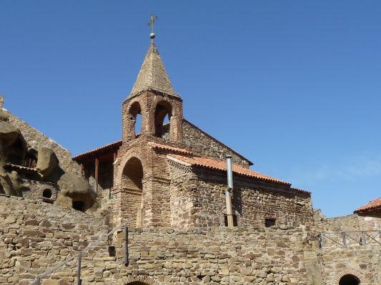 Kostol v kláštore Davida Garedžu v Gruzínsku