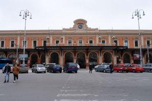 Železničná stanica v Bari