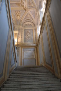 Interiér Univerzity v Bari