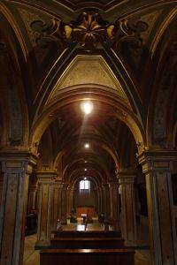 Krypta, v ktorej sa nachádzajú pozostatky sv. Sabina