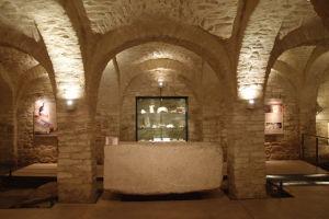 Podzemná expozícia katedrály