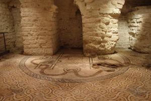 Mozaika pôvodného chrámu