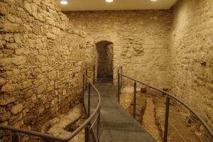 Zvyšky starej rímskej cesty