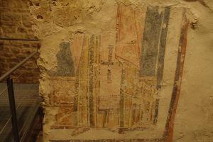 Zvyšok pôvodnej fresky