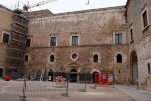 Vnútorné nádvorie hradu