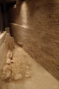 Archeologické vykopávky základov hradu