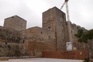 Mohutný hrad Svevo