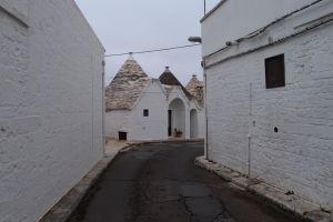 V uličkách Alberobella...
