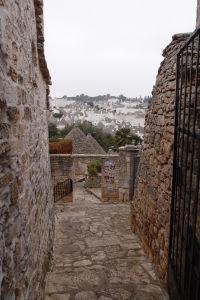 Pohľad na Rione Monti, ďalšiu zónu s domčekmi trulli