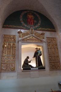 Vo vnútri chrámu