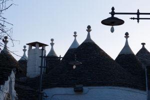 Strechy trulli v Alberobello