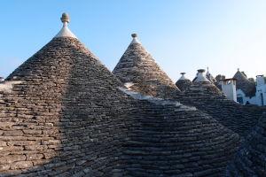 Typické strechy trulli