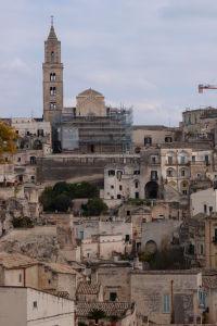 Staré mesto Matera a katedrála