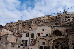 Pohľad na mesto z jeho centra, ulice Via Fiorentini