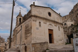 Jeden z kostolíkov v Matere