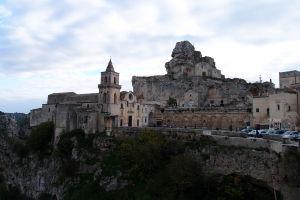 Chrám sv. Petra a Pavla a Sasso Caveoso
