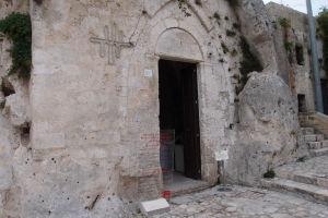 Vstup do chrámu Santa Lucia alle Malve