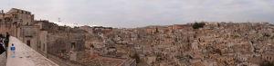 Výhľad na Materu z terasy pri katedrále