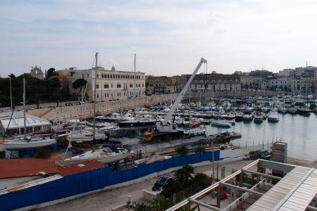 Prístav v Trani