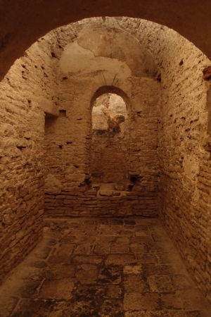 Podzemie katedrály ukrývajúce chrám zo 4. storočia