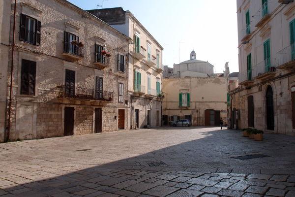 Námestie Piazza Municipio v Molfette