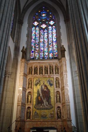 Metropolitná katedrála - Mozaika sv. Pavla