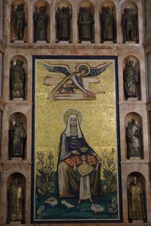 Metropolitná katedrála - Mozaika Madonny s dieťaťom